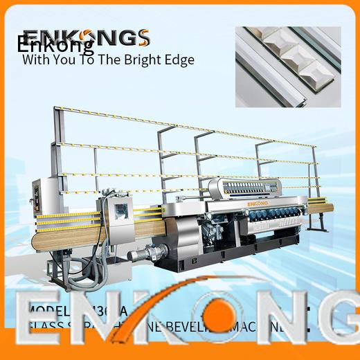 Enkong real glass beveling machine wholesale
