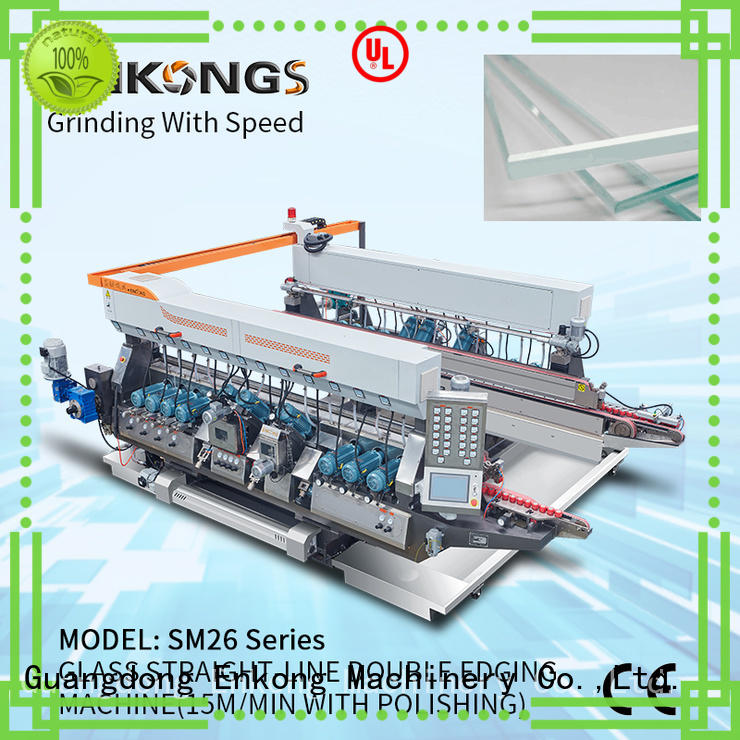 Enkong high speed double edger wholesale for photovoltaic panel processing