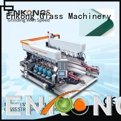Enkong real double edger machine manufacturer for photovoltaic panel processing