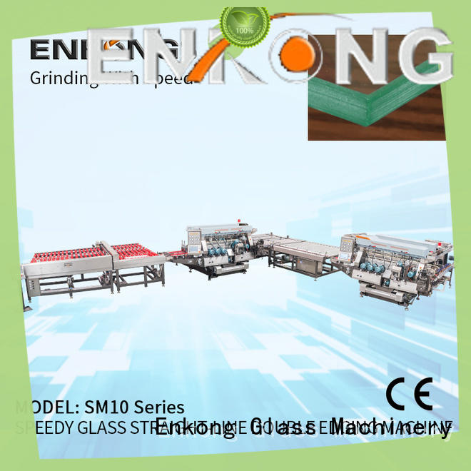 Enkong straight-line double edger manufacturer for round edge processing