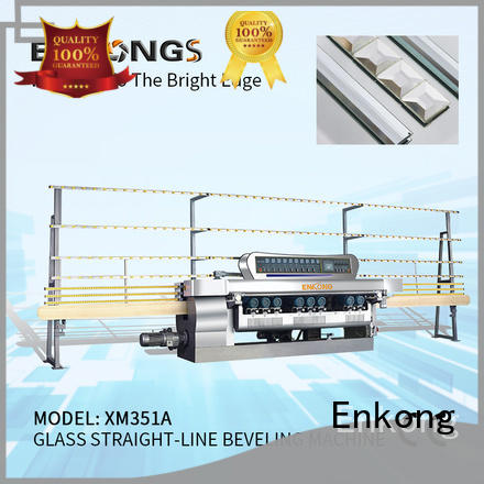 Enkong good price glass beveling machine for sale wholesale for glass processing