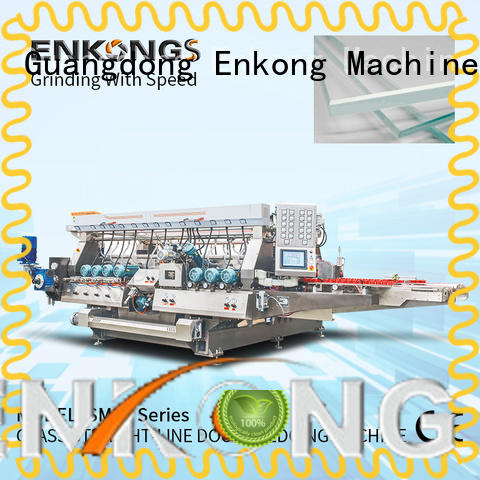 Enkong SM 10 glass double edging machine wholesale for household appliances