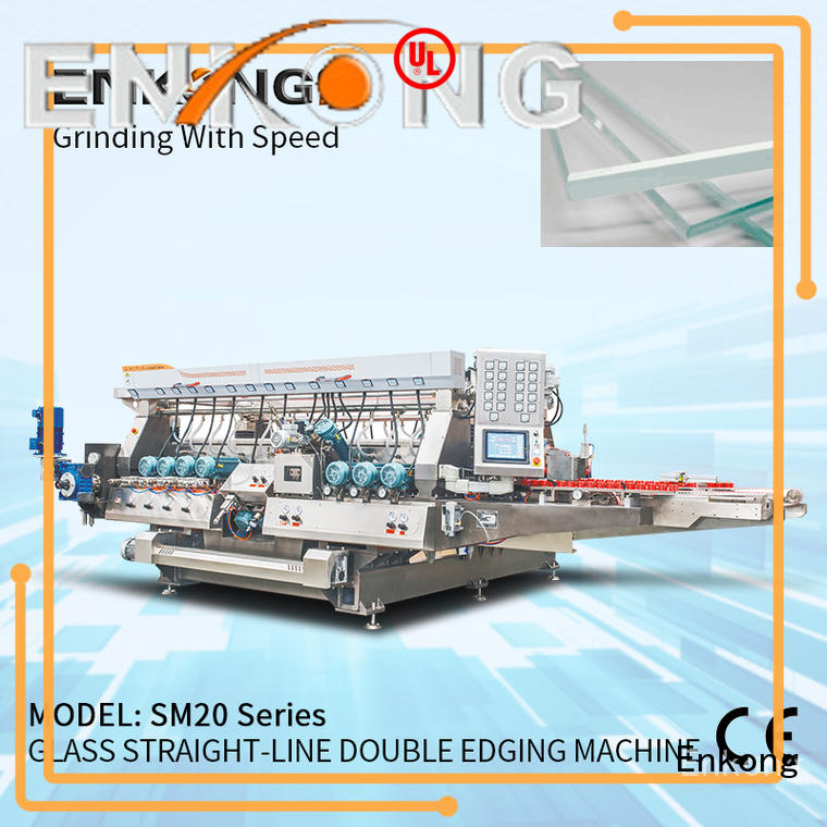 Enkong high speed double edger manufacturer for photovoltaic panel processing