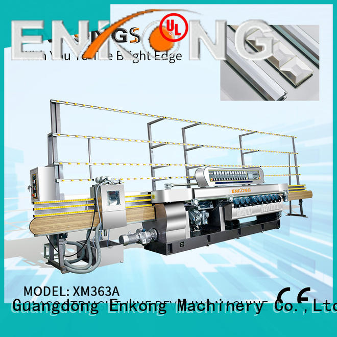 long lasting glass beveling machine for sale 10 spindles series for glass processing