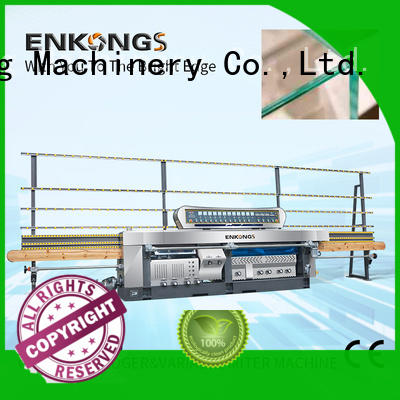 Enkong real glass mitering machine manufacturer for polish