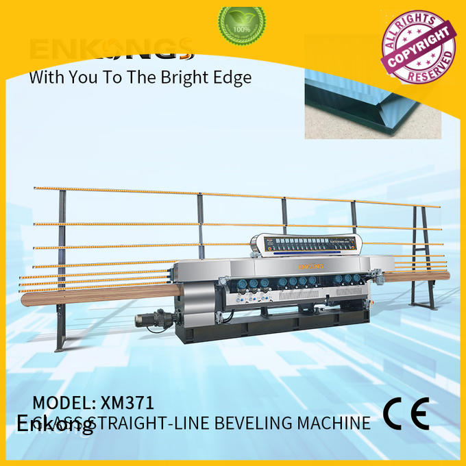 Enkong long lasting glass beveling machine for sale wholesale for polishing