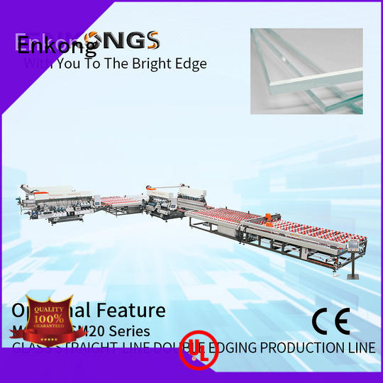 cost-effective double edger SYM08 factory direct supply for round edge processing