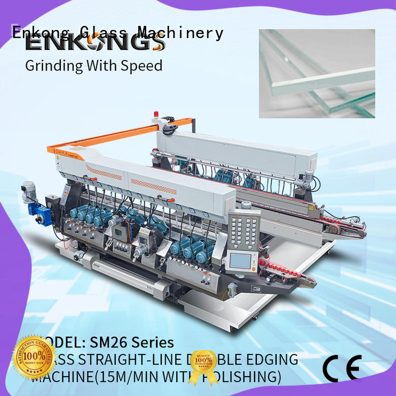 real double edger SM 12/08 series for round edge processing