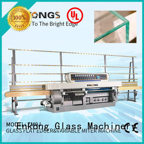 professional glass mitering machine 60 degree customized for grind