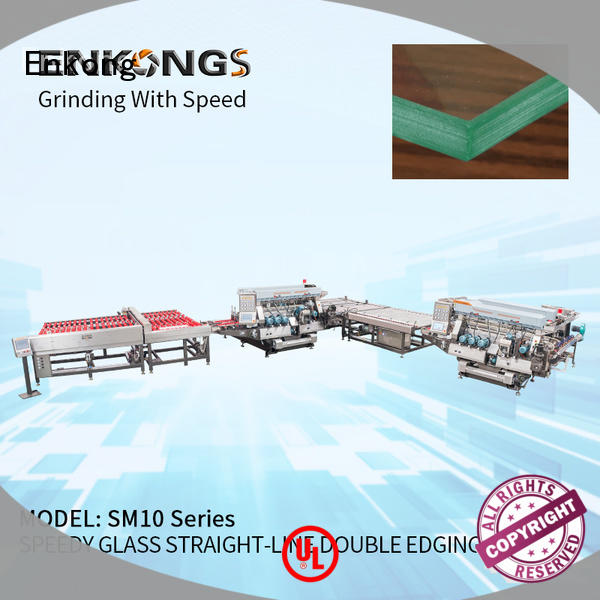 cost-effective glass double edging machine modularise design supplier for household appliances