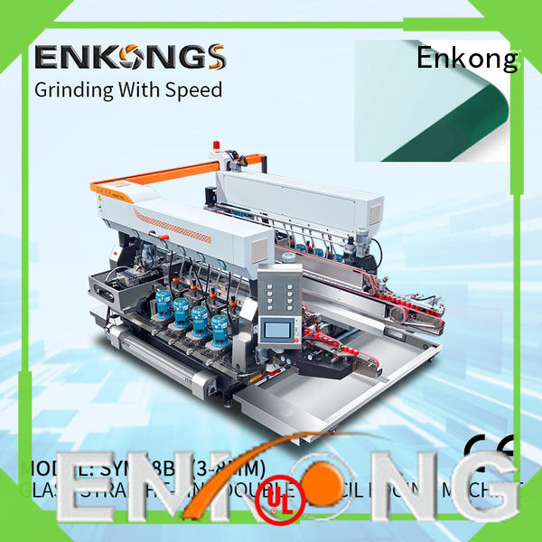 cost-effective glass double edging machine SM 26 factory direct supply for round edge processing