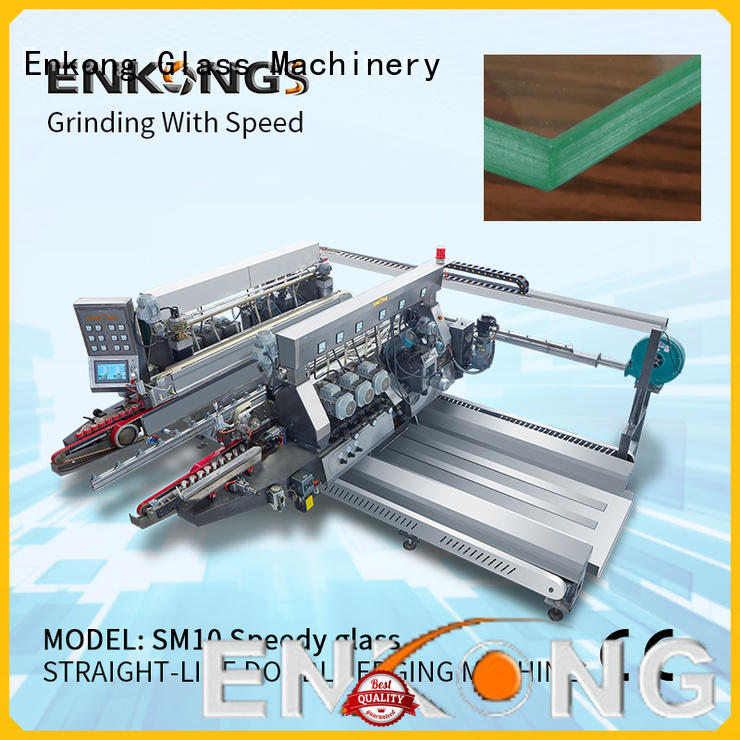 Enkong high speed double edger machine wholesale for household appliances