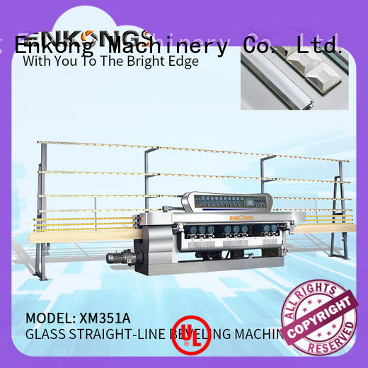 Enkong xm371 glass beveling machine factory direct supply
