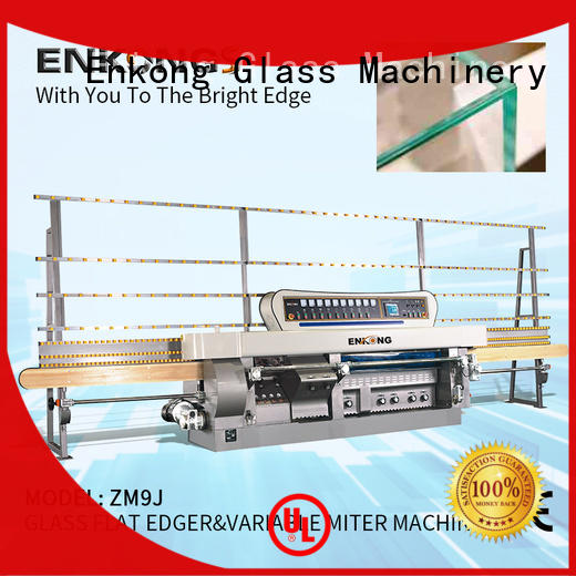 Enkong ZM9J glass mitering machine wholesale for polish