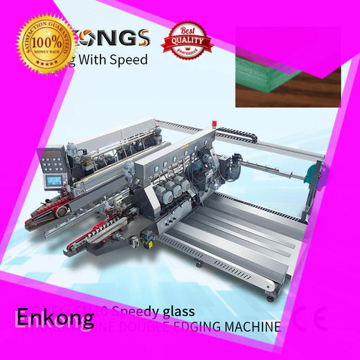 Enkong modularise design glass double edging machine wholesale for photovoltaic panel processing