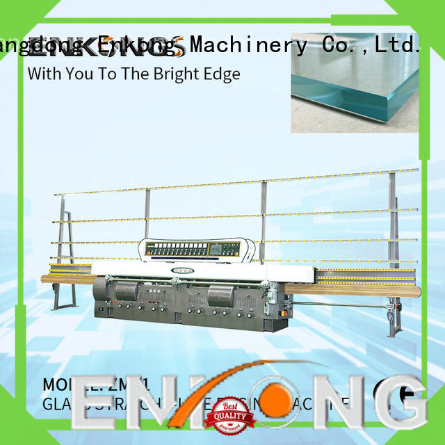 Enkong efficient glass edge polishing machine for sale zm11 for polishing