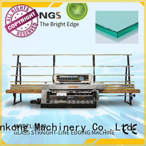 Enkong zm4y glass edging machine supplier for fine grinding