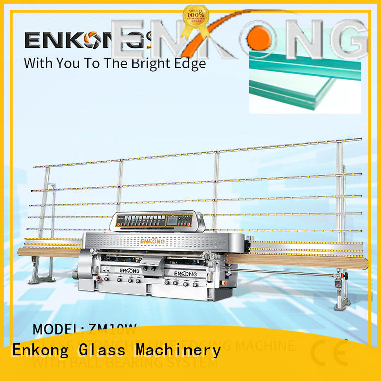 Enkong zm10w glass machinery factory direct supply for processing glass