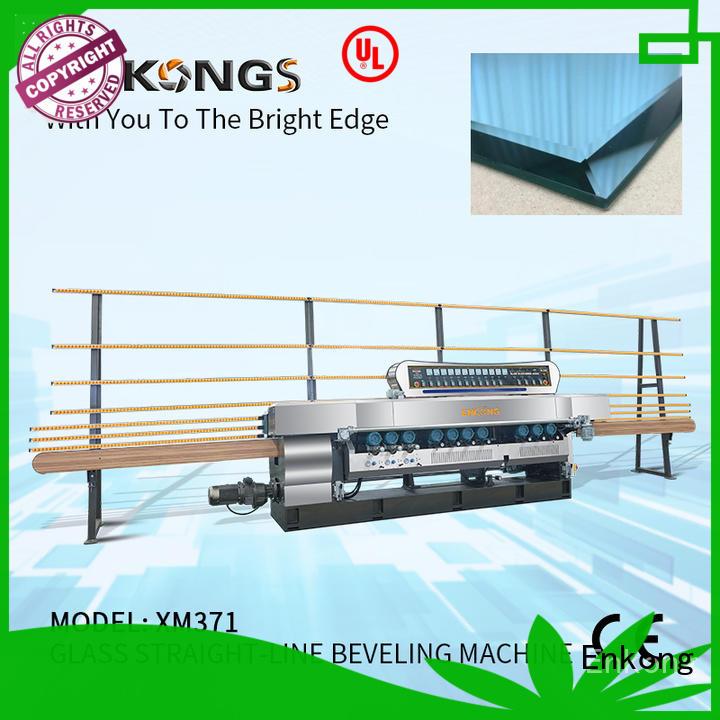 Enkong efficient glass beveling machine series