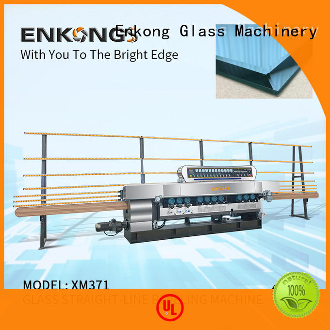 Enkong long lasting glass beveling machine for sale factory direct supply