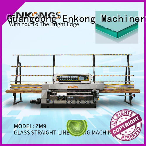 Enkong efficient glass edge polishing machine supplier for fine grinding