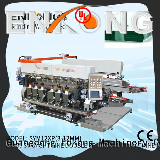 Enkong real double edger machine series for round edge processing