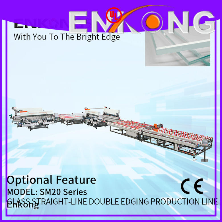 high speed double edger straight-line series for round edge processing