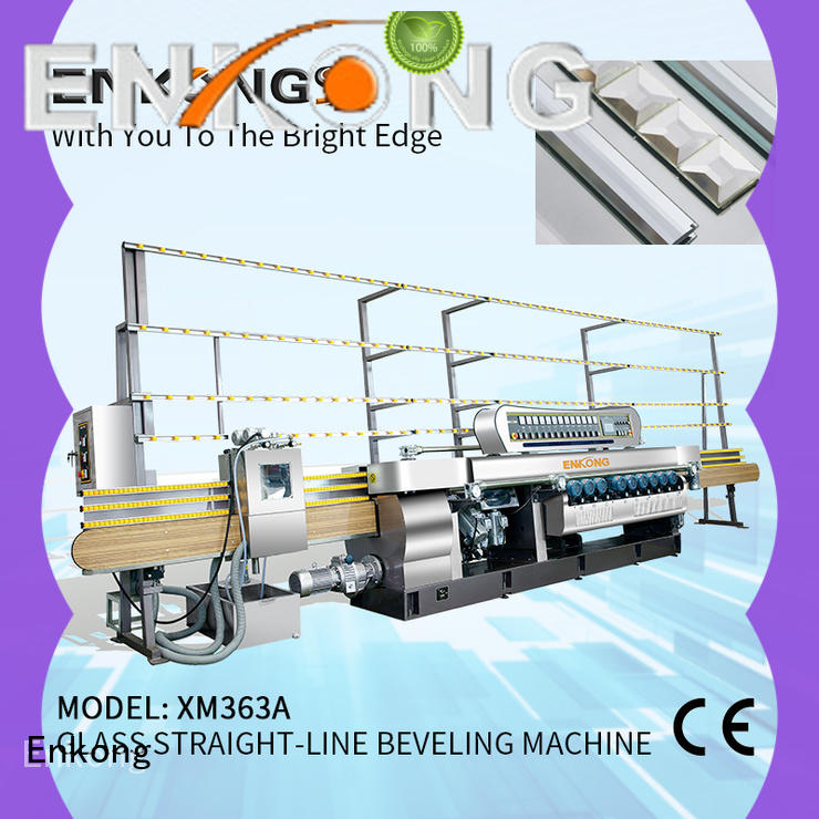 Enkong cost-effective glass beveling machine factory direct supply