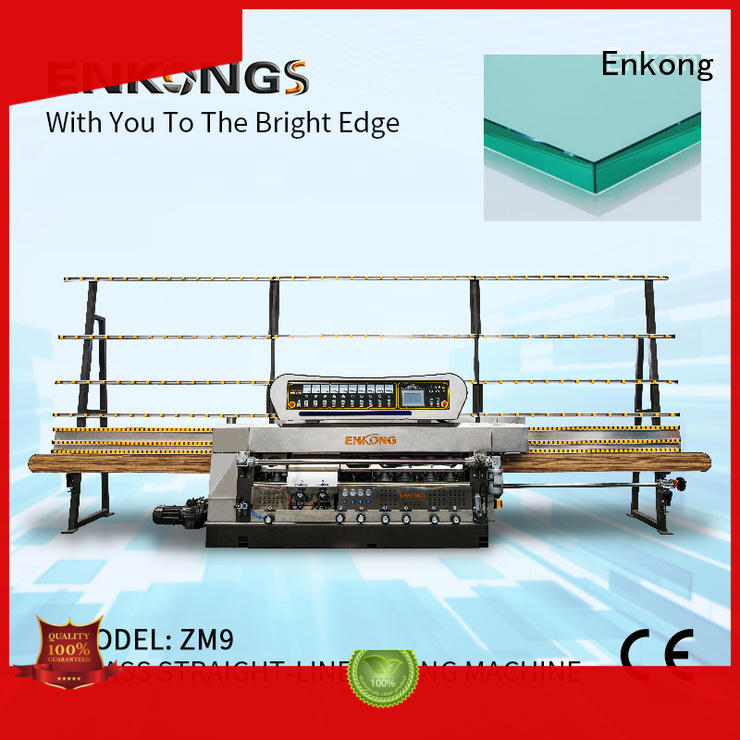 Enkong efficient glass edge polishing machine wholesale for fine grinding