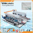 Enkong quality glass double edging machine supplier for round edge processing