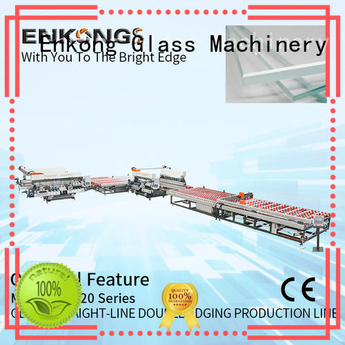 Enkong SM 26 glass double edging machine wholesale for photovoltaic panel processing