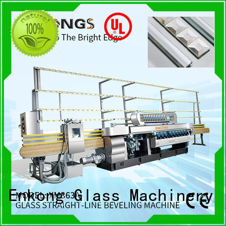 Enkong cost-effective glass beveling machine for sale factory direct supply for polishing
