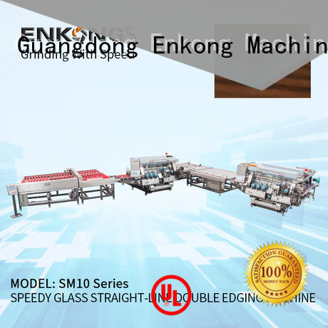 high speed glass double edging machine modularise design series for household appliances