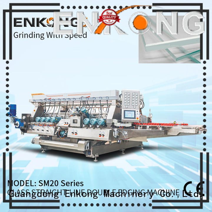 real glass double edging machine SM 20 manufacturer for household appliances