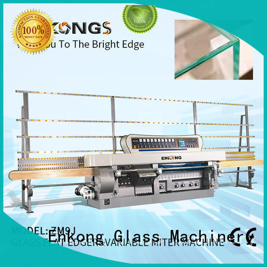 top quality glass mitering machine ZM9J supplier for polish