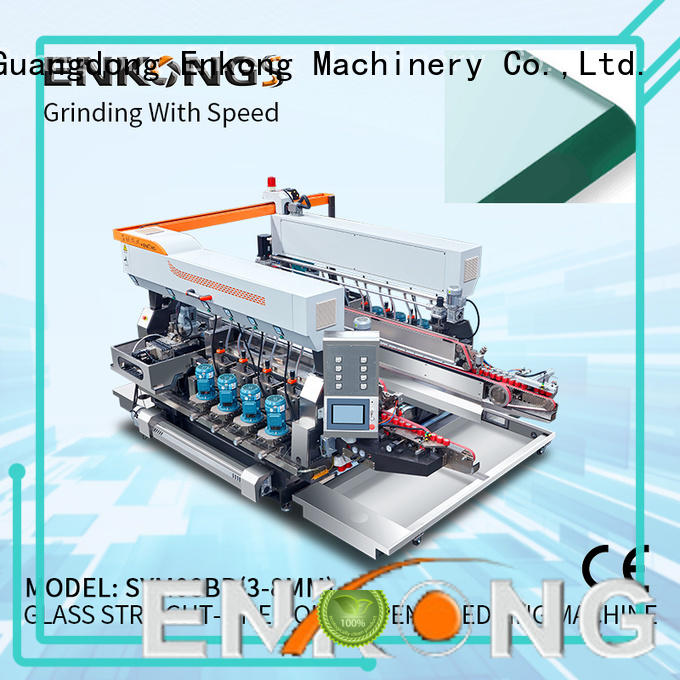Enkong SM 22 double edger machine series for round edge processing