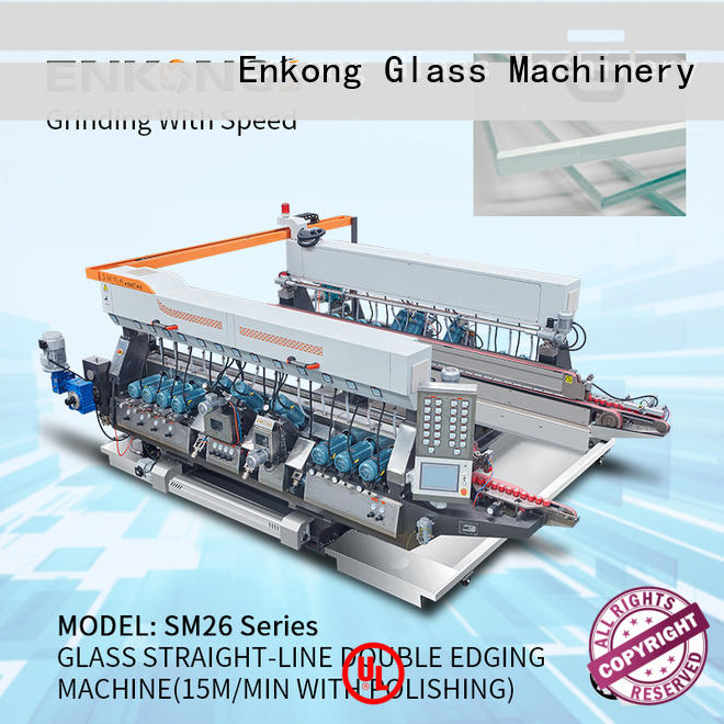 real double edger machine SM 26 manufacturer for photovoltaic panel processing