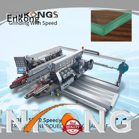 Enkong high speed double edger machine wholesale for photovoltaic panel processing