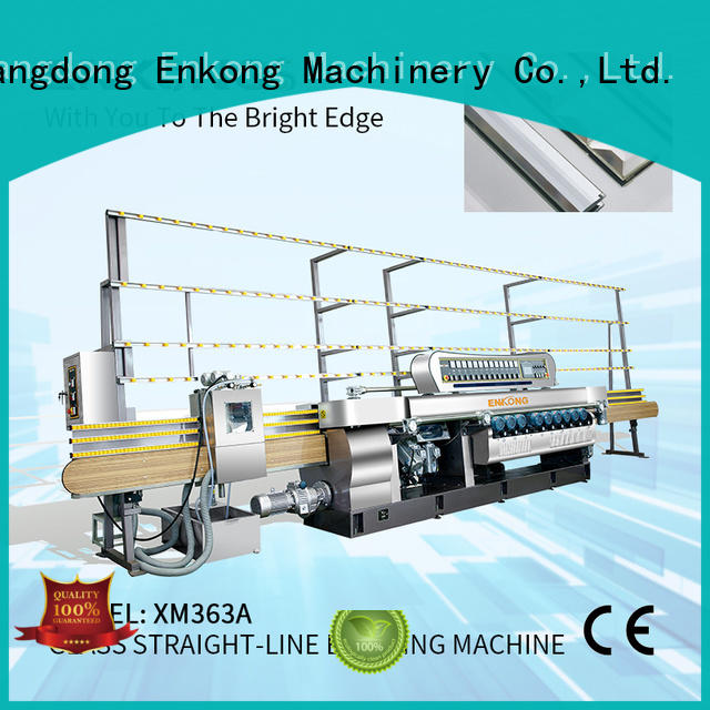 Enkong cost-effective glass beveling machine for sale factory direct supply for glass processing