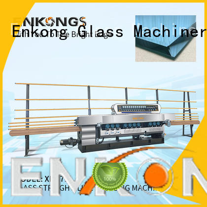Enkong real glass beveling machine wholesale for glass processing