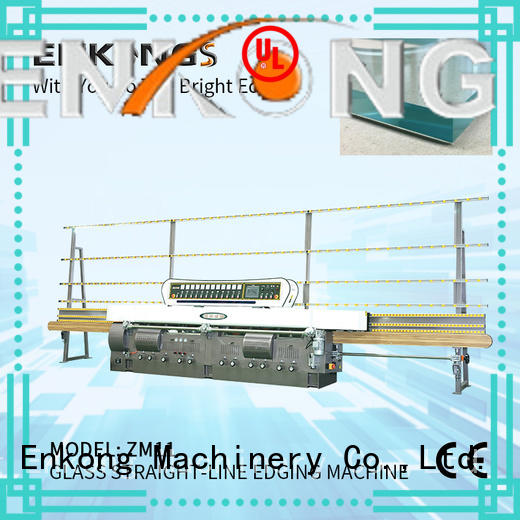 glass edge polishing machine zm11 for fine grinding Enkong
