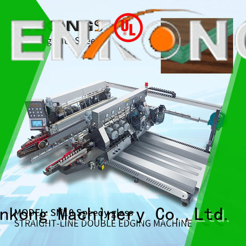 Enkong high speed glass double edging machine manufacturer for household appliances