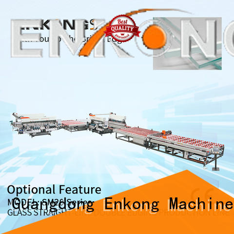 Enkong SM 10 double edger factory direct supply for round edge processing