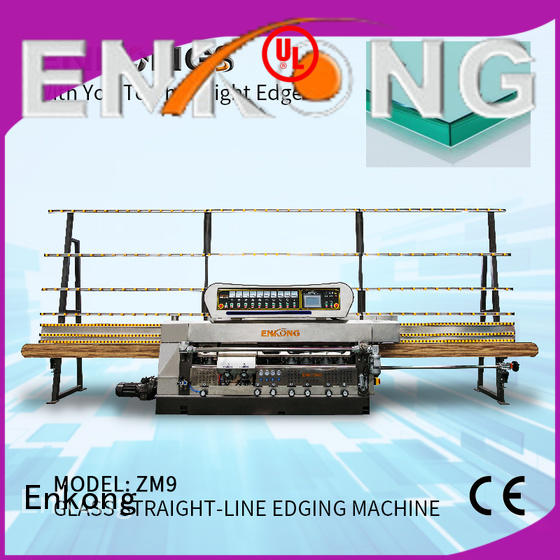 Enkong efficient glass edging machine series for polishing