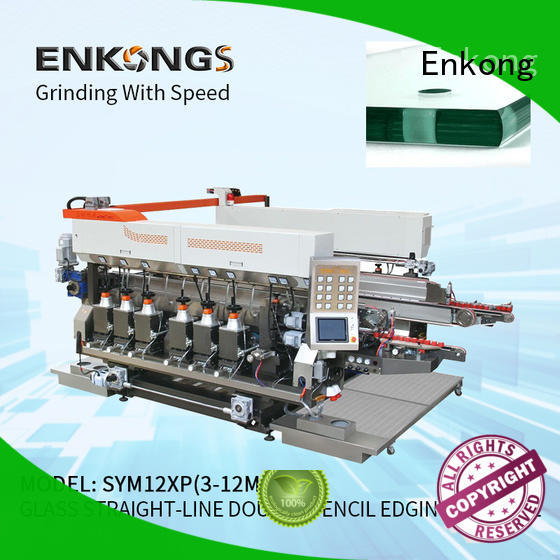 SM 26 glass double edging machine manufacturer for photovoltaic panel processing Enkong