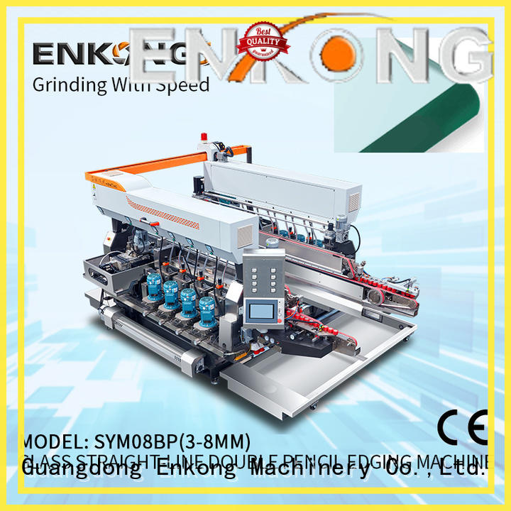 Enkong quality glass double edging machine wholesale for photovoltaic panel processing