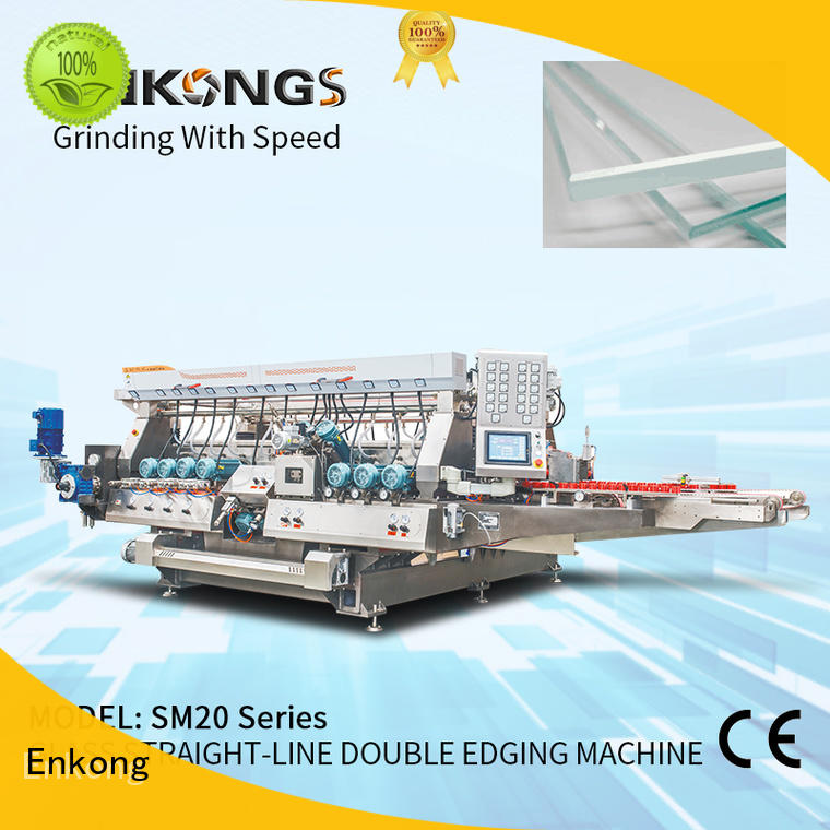 Enkong high speed double edger machine manufacturer for household appliances