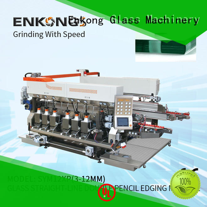 Enkong SM 26 double edger machine manufacturer for photovoltaic panel processing
