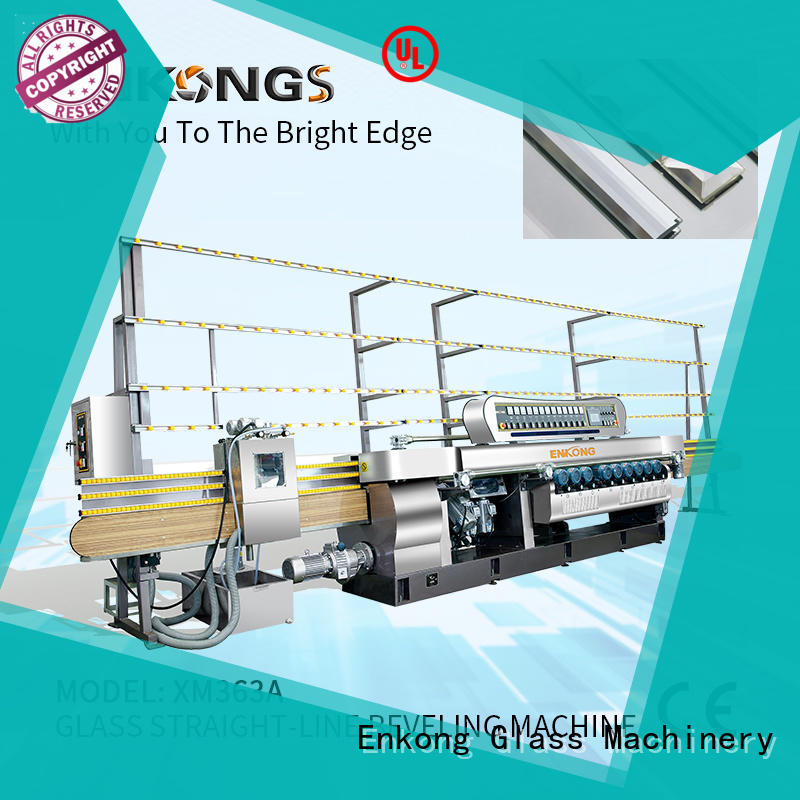 long lasting glass beveling machine for sale 10 spindles wholesale
