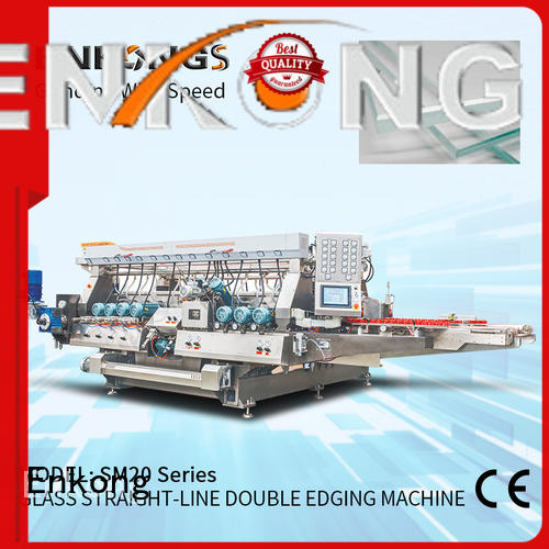 Enkong real double edger machine supplier for round edge processing